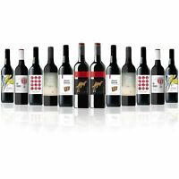 Aussie Favourite Mix Red Wine feat. Yellow Tail Cabernet Sauvignon (12 Bottles)