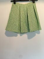 GREEN WHITE SKIRT 8 TOPSHOP BEACH SUMMER HOLIDAY TOWIE CLUBBING  RRP £35