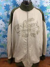 EIGHT 732 Mens 4XL XXXXL Long Sleeve Zippered Coat Jacket A16