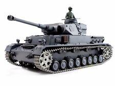 2.4Ghz 1/16 German Panzer IV F2 RC Battle Tank Super Metal w/Smoke & Sound RTR