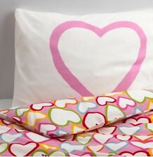 Ikea Vitaminer Hjarta Single Duvet Set 1 Pillowcase Lovehearts 150 x 200cm BNWT