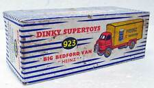 Big Bedford Van Heinz Dinky Supertoys 923 England EMPTY striped BOX COVER ONLY