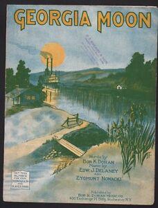 Georgia Moon 1922  Sheet Music