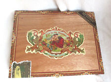 MY FATHER CIGARS FLOR DE LAS ANTILLAS TOROS GORDOS WOOD CIGAR BOX -NICE GRAPHICS