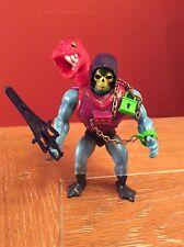 Vintage Original 1980's MOTU Dragon Blaster Skeletor Action Figure 100% Complete