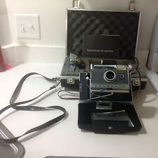 Vintage Polaroid Automatic 100 Land Camera with Accessories & Cases (Molded) VGC