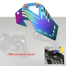 Motorcycle Rear Front Fender Mudguard Stainless Steel manufacturing Roasted Blue