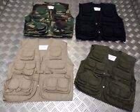 Kids ARMY Children's Assorted Action Multi-Pocket Combat Vest / Fishing Vest NEW