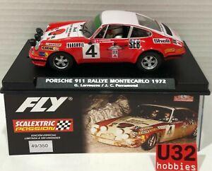 FLY E2014 Porsche 911 #4 Rallye Monte Carlo 1972 Larrousse-Perramond