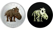 Canada (2012) 25-cent Dinosaur Glow in the Dark Coin (Royal Canadian Mint)
