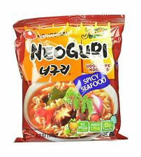 Nongshim Neoguri Noodles Spicy Seafood 4.2 Ounce (Pack of 16) Free Shipping