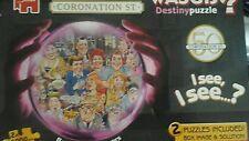 Wasgij Destiny Limited Edition Coronation Street 2 puzzles