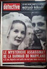 DETECTIVE 14/10/1965; Les grand procès de Mehyaoui et Rabasse