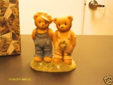 Cherished Teddies ` Ernest & Bugsy Looks like trouble is just around the corner