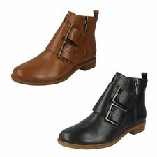 Clarks Buckle Ankle Boots for Women