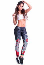 Women's Colombian Shaping Workout Fitness Training Compression Tights (Nouba)
