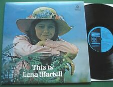 This is Lena Martell inc And I Love You So & Amazing Grace + NSPL 18414 LP