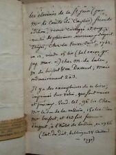 ETRENNES DE LA SAINT-JEAN / LES ECOSSEUSES. Troyes, 1757. Oeuvres poissardes.
