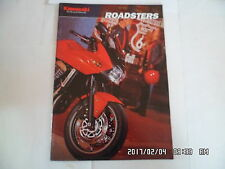 CATALOGUE PUBLICITAIRE KAWASAKI ROADSTERS Z750 Z750S Z1000 ER-5 ZRX1200R    K27