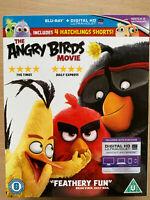 The Angry Birds Movie 2017 Animated Comedy Family Movie UK Blu-ray w/ Slipcover