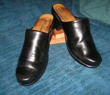 NAOT 'DREAM' Leather Clogs/ Mules 39 L8 (8.5) Excellent Condition !