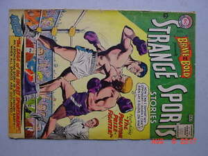 Brave and the Bold # 47    1963      Strange Sports    Infantino art     G/VG