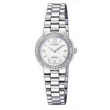 CITIZEN EcoDrive Watch,MotherPearlOfDial,MadeOfSWAROVSKI®ELEMENT,Lady,EW9820-89D