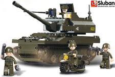 Sluban Battle Tank Army Military Building Blocks Brick Set Boys Kids B9800 New