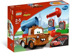 New Sealed Lego Duplo Disney Cars Agent Mater 5817 Discontinued Rare