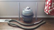 Eureka Metal Canister Vacuum Model 800 Roto Matic Swivel Top Green Vintage