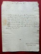 1702 Rom Chirurg LUCIO MATTEI - Bewerbung um CHIRURGENSTELLE