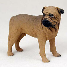 Bull Mastiff Hand Painted Dog Figurine Statue