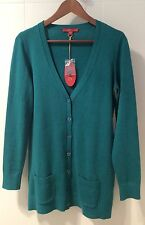 EDC by ESPRIT - Longline Button Cardigan - Small (8/10) - NWT