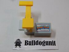 1992 Loopin Louie Yellow Paddle Part Only Board Game Replacement Piece