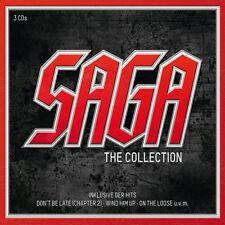 SAGA - THE SAGA COLLECTION 3 CD 36 TRACKS ROCK POP NEU