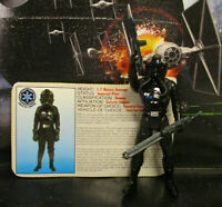 1995  Kenner Star Wars POTF 2 TIE Fighter Pilot Loose & Complete Action Figure