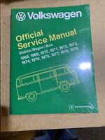 Volkswagen Official Service Manual - Station Wagon Bus - 1968 to 1979 OEM Repair