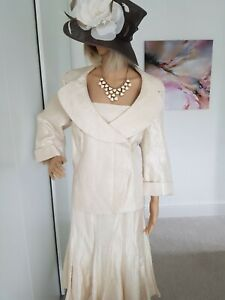 GINA BACCONI GORGEOUS OCCASION OUTFIT SIZE 20 STUNNING