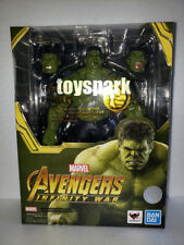IN HAND BANDAI S.H.Figuarts Marvel Avengers Infinity War HULK 21cm action figure