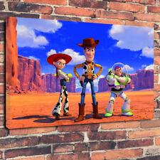 """Classico film Bambini Giocattolo Trio Scatola stampata foto su tela A130""""x20""""x30mm TELAIO in profondità"""