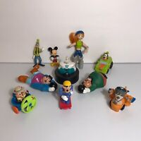 Lot of 10 Disney Afternoon Toys & Figures Goof Troop Talespin Chip & Dale + More