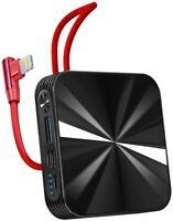Portable Charger 10000mAh Power Bank Cellphone Charger,Ultra Compact Backup Batt