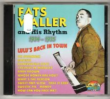 (GL738) Fats Waller & His Rhythm 1934-35, Lulu's Back In Town - 1997 CD