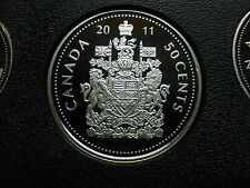 2011 Canadian Silver Proof 50 Cent ($0.50)