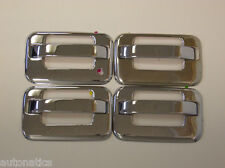 FORD F-150 (W/O KP) (W/ KE) 2004 - 2014 TFP SS CHROME DOOR HANDLE COVER ACCENT