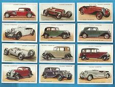 Players cigarette cards - MOTOR CARS - Full mint condition set