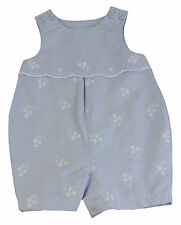 JACADI Girl's Trace2 Chambray Woven Overall Jumpsuit Size 18 Months NWT $49