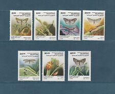Mauritanie  faune insectes parasites des cultures 1989   num: 616/22  *  TTB