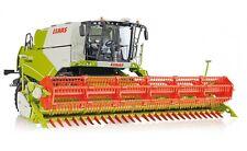 #077817 - Wiking Claas Tucano 570 Mähdrescher mit Getreidevorsatz V 930 - 1:32