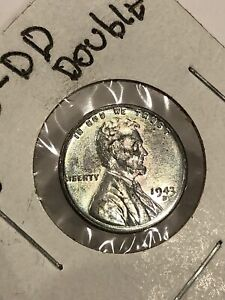 1943 Double-D steel penny error